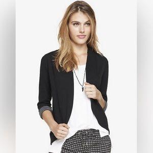 Express Knit Curved Hem Jacket